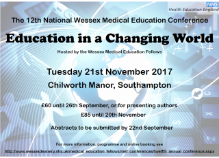 The 12th National Wessex Medical Education Conference