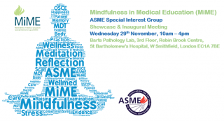 Mindfulness in Medical Education (MiME) showcase and inaugural meeting