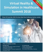 Virtual Reality & Simulation in Healthcare Summit 2018
