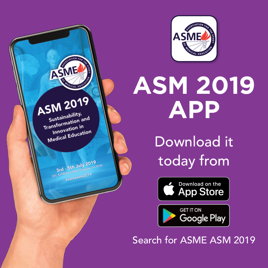 ASM 2019: Sustainability, Transformation and Innovation in Medical